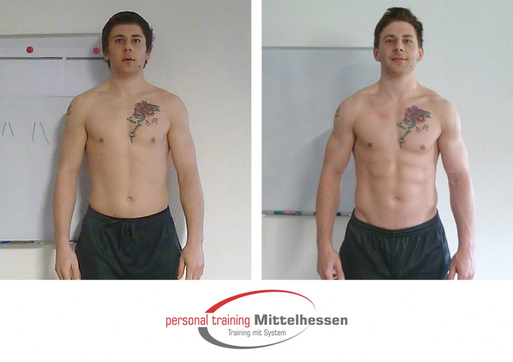 Muskeln aufbauen – Shane Haskins