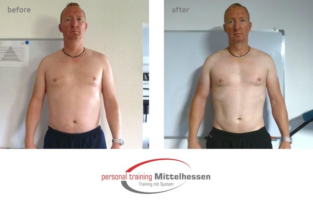 Wie Karl-Heinz in 4 Monaten 8,8% Körperfett reduzieren konnte