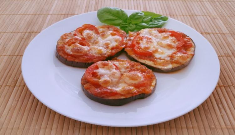Auberginen Mini-Pizzen