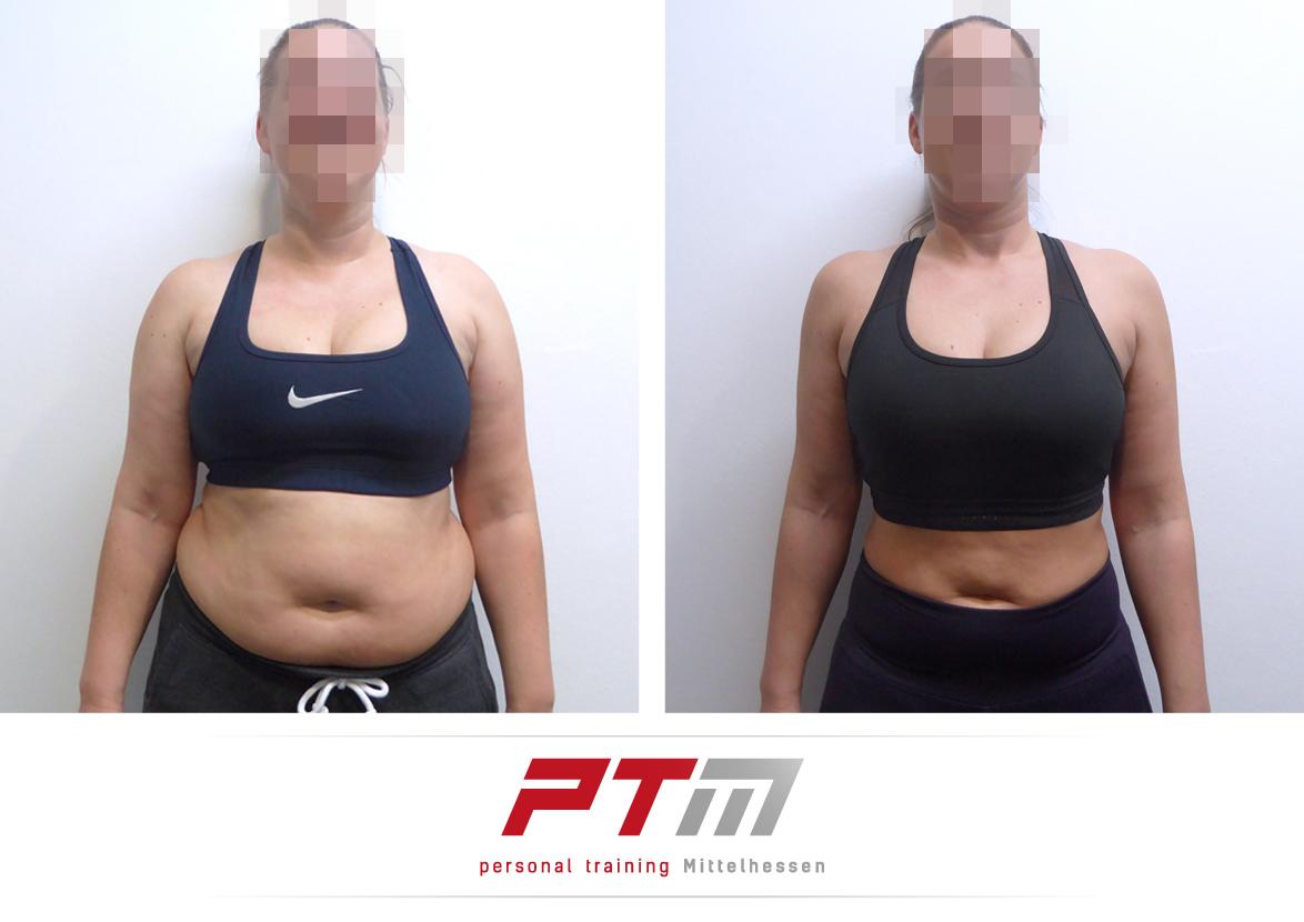 Körperfett reduzieren - Katrin P Vorne